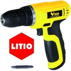 Trapano a batteria Vigor VST-720 LITIO