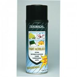 Bomboletta Spray Teknica Ml.400 RAL 9010 Elettro