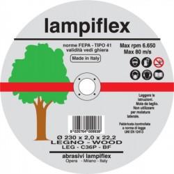 Disco Lampiflex 115x1.6 taglio legno