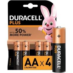 Batteria Duracell Stilo AA Pz.4